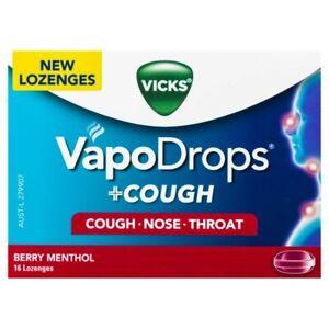 Vicks-VapoDrops-Cough-Berry-Menthol-Lozenges-16-pack