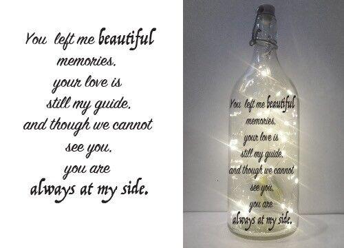 Vin//IKEA Korken clair bouteille Memorial CITE 017 À faire soi-même Lettrage Imprimé Vinyle