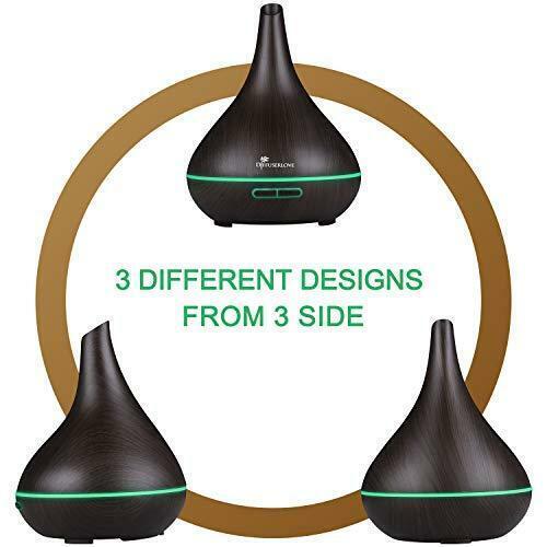 Diffuserlove 500ML diffuser Aroma Ultraschall Luftbefeuchter Trag...