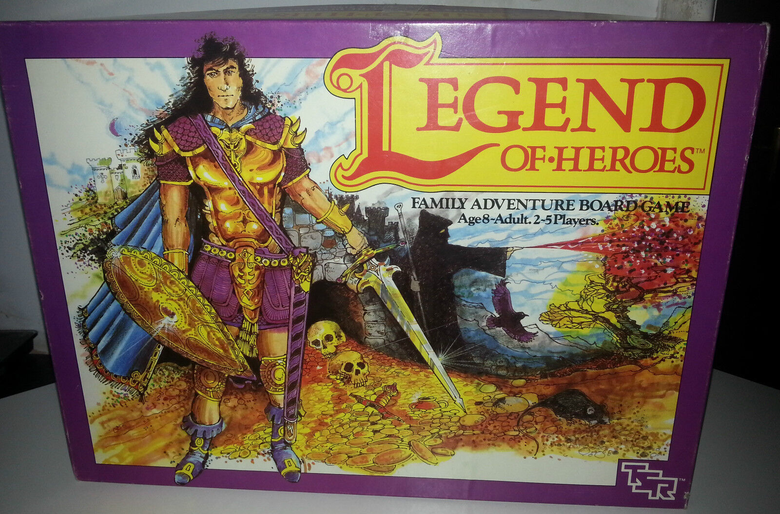 Legend of Heroes 1987 TSR par Graeme Morris d&d donjons & dragons