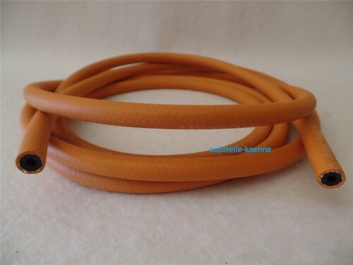 20 mètres tuyau propane ø 4x4,0 mm Orange Haute pression DIN 4815 DVGW Max 30bar