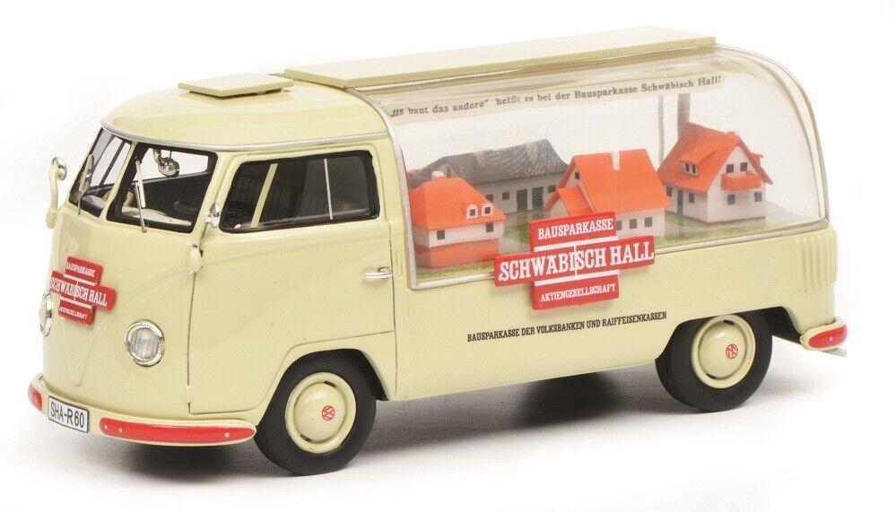 Schuco Pro. R 09023 - 1 43 VW t1a  Schwäbisch Hall  - NEUF