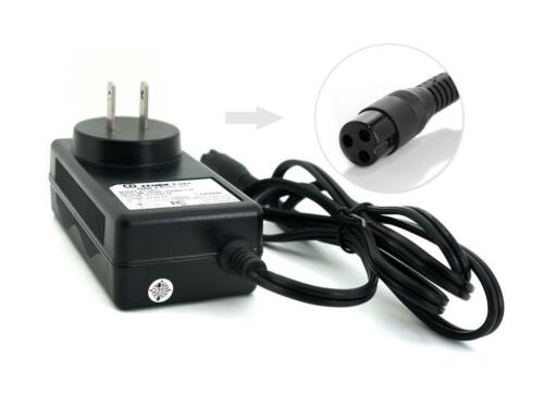 36W Scooter Battery Wall Charger 3-hole Inline for Electra Scoot N Go E-Scooter