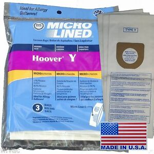 Image Is Loading Hoover Type Y Windtunnel Tempo Upright Vacuum Bags