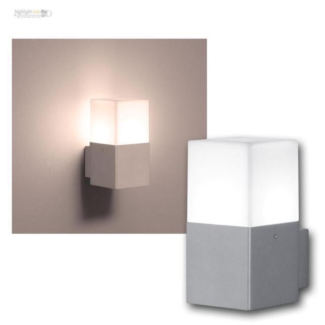 """LED Applique murale """" Hudson """" couleur titane pour extérieur 1-flamm Lampe"""