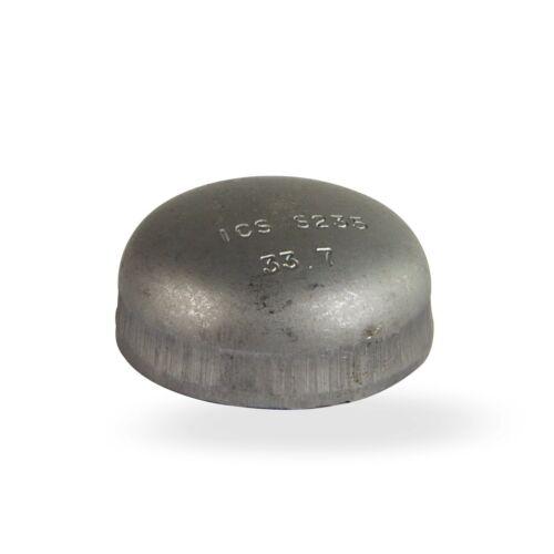 Stahl Klöpperboden 1 1//4 Zoll 42,4 mm DN32 Blindkappe schwarz Schweissfitting