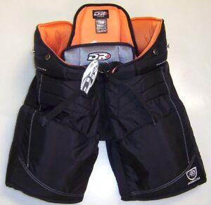 New Dr X6 Jr Ice Hockey Goalie Pants Black Junior Xs 24 Size Small