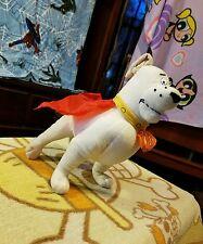 "2005 Superman Approx 12"" Krypto The Superdog Plush DC Comics Kids CN WB By Nanco"