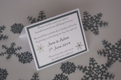 TABLE DECORATION Stationery;5 designs//60 colours//any qty Handmade SNOWFLAKE