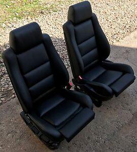 bmw e34 m5 sportsitze recaro seats reupholstered e28 m535i. Black Bedroom Furniture Sets. Home Design Ideas