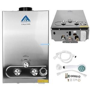 8L Gas Durchlauferhitzer Propangas Warmwasserbereiter Boiler ...