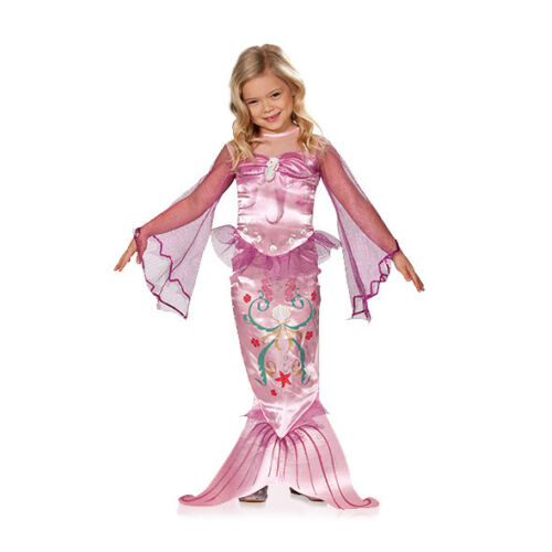 Meerjungfrau Kostüm Mädchen Kinder rosa Faschingskostüm Kinderkostüm Karneval