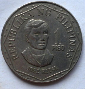 Philippines 1976 1 Piso coin