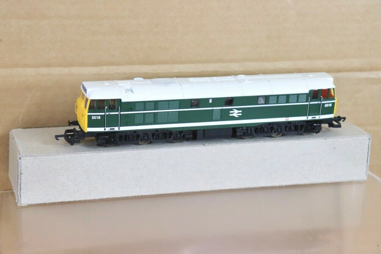 LIMA RE PAINTED BR verde CLASS 31 DIESEL LOCOMOTIVE 5518 nt