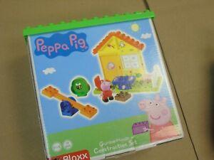 NEW-SEALED-Peppa-Pig-Garden-House-Building-Blocks-Set-BIG-Bloxx-Action-Figure