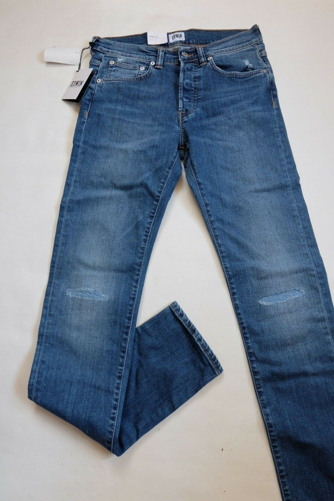 JEANS EDWIN HOMME ED 80 SLIM TAPERED (cs night -baroque wash) W36  L34 VAL