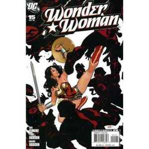 Wonder Woman (2006 series) #15 in Near Mint + condition. DC comics [*8q]