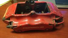 Porsche 911 996 4 piston right rear Turbo Boxster Big Red Brake Caliper