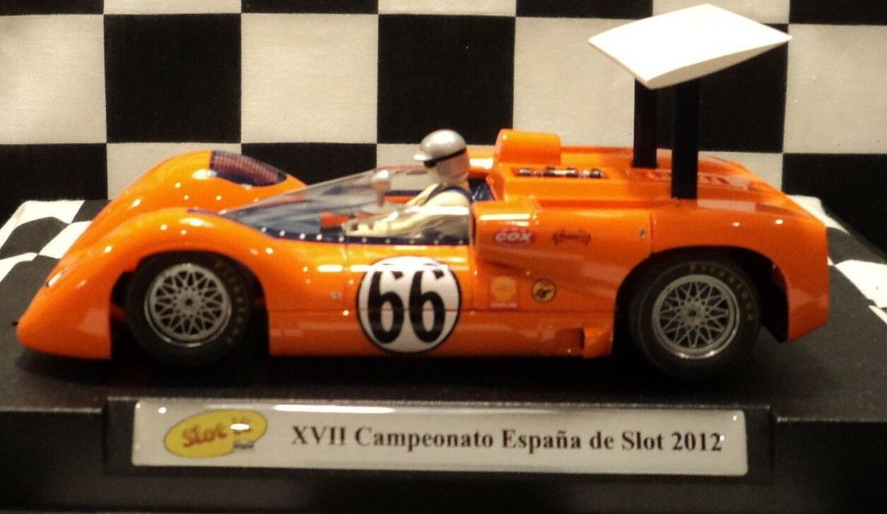 Slot it SISC 16 A chapparral 2E XVII Loeb ESPAÑA DE SLOT, 66 1/32 ranura de coche