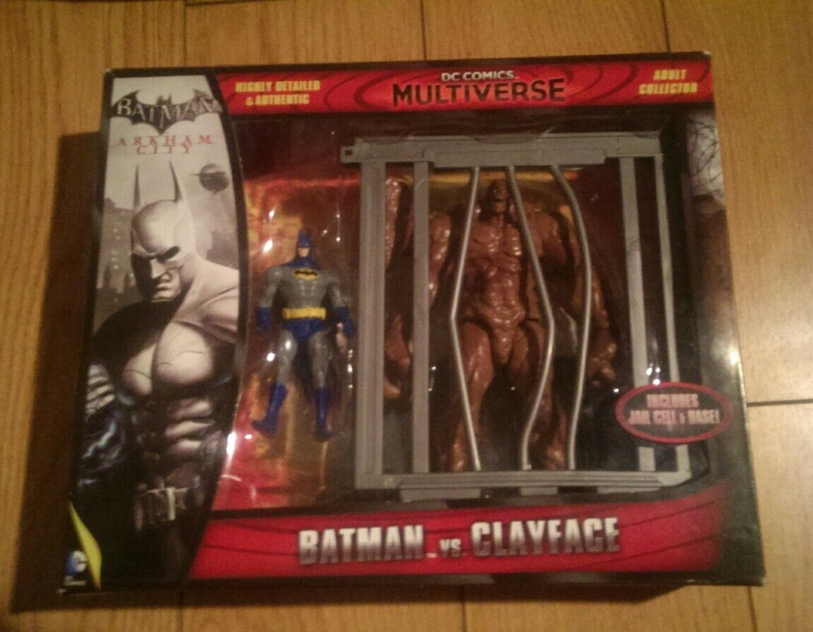 Dc multiversum - batman vs. clayface... batman vs solomon.