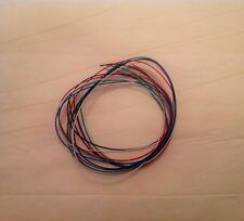 """13"""" or 33.02 cm Tonearm Wire Set 32 AWG Silver Plated Copper Without Clips"""