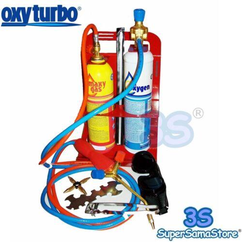 3S NEW TURBO SET 90 OXYTURBO PORTABLE WELDING BRAZING SET OXYGEN GAS CYLINDERS