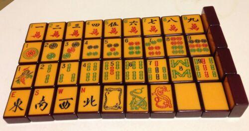 enrobed bakelite tile for replacement mahjong jong jongg 1940s_burgundy color hot sale - Enrob Color