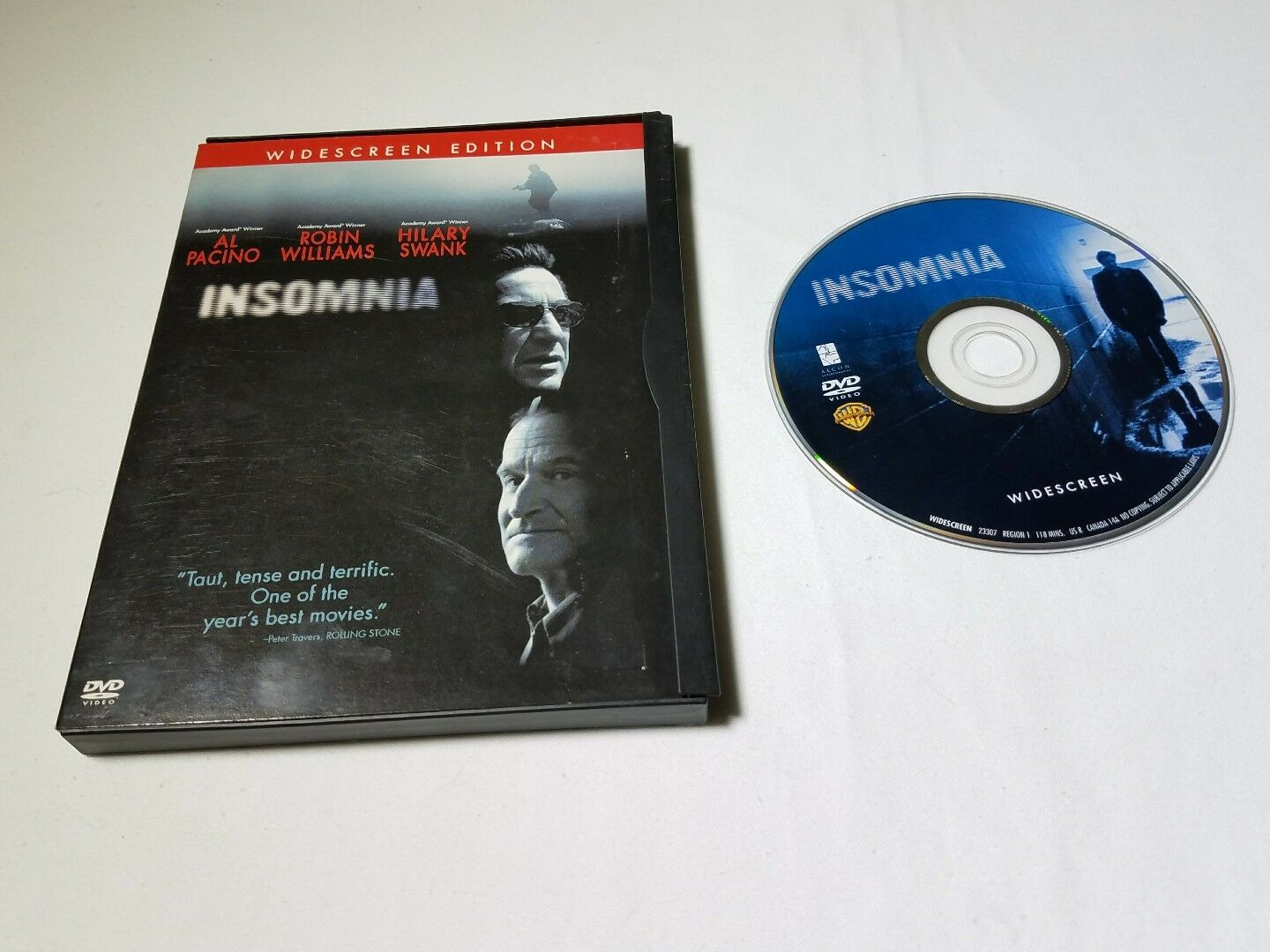 Insomnia (DVD, 2002, Widescreen) free shipping 1