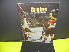 NHL BOSTON BRUINS VS. MONTREAL CANADIENS  NOV.14, 1974 RIVALRY PROGRAM