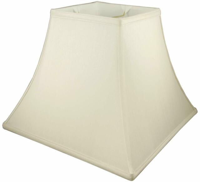 Off-white American Pride 5x 16x 8.5 Round Soft Shantung Tailored Lampshade