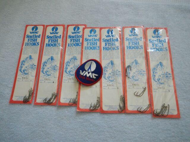 2-Pack lot 96 Total Snelled Bait Holder Fishing Hooks Size 4 6 8 /& 10 assorted