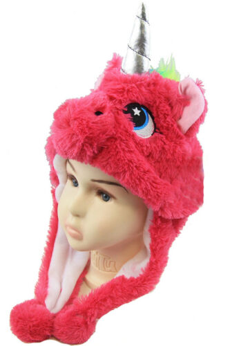 Toddler Baby Girl Boy Child Rabbit Ear Unicorn Horn Hat Nursery Beanie Tail Cap