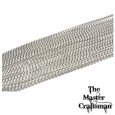 Onvermoeibaar 1-10 M Jewellery Making Necklace Chain Sterling Silver Plated Curb Wholesale Per
