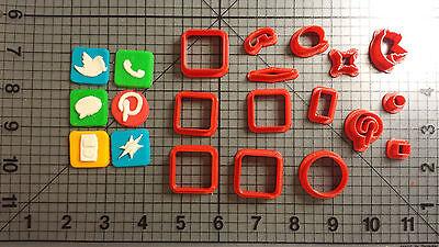 Iphone Ap Cookie Cutter Set