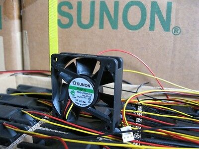 60mm x 15mm 3pin 12V CPU//Case Fan Sunon MagLev ME60151V2-000U-G99