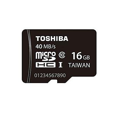 TOSHIBA MICROSDHC 40MB/SEC 16GB 16G 16 G GB MICRO SD HC CLASS 10 UHS-I U1 MEMORY