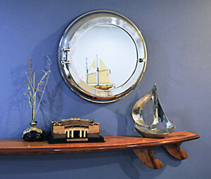 Image Is Loading Shallow Depth Medicine Cabinet Surface Wall Mounted  Porthole