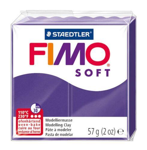 Fimo Weich Polymer Ofen Modellierung von Ton Satz 8 Regenbogen Farben 57g