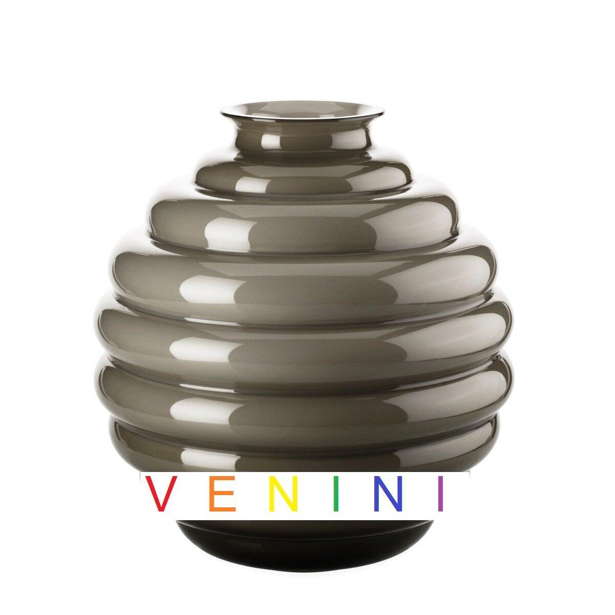 Venini Deko - Vase Deco 707.10 Taupe Venini - Venini Napoleon Maes
