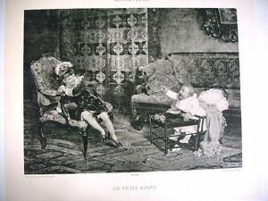 Art Phototypie Xixe D'après Adrien Marie - Un Petit Avare - Enfants 3yjyjmbq-10040248-623584723