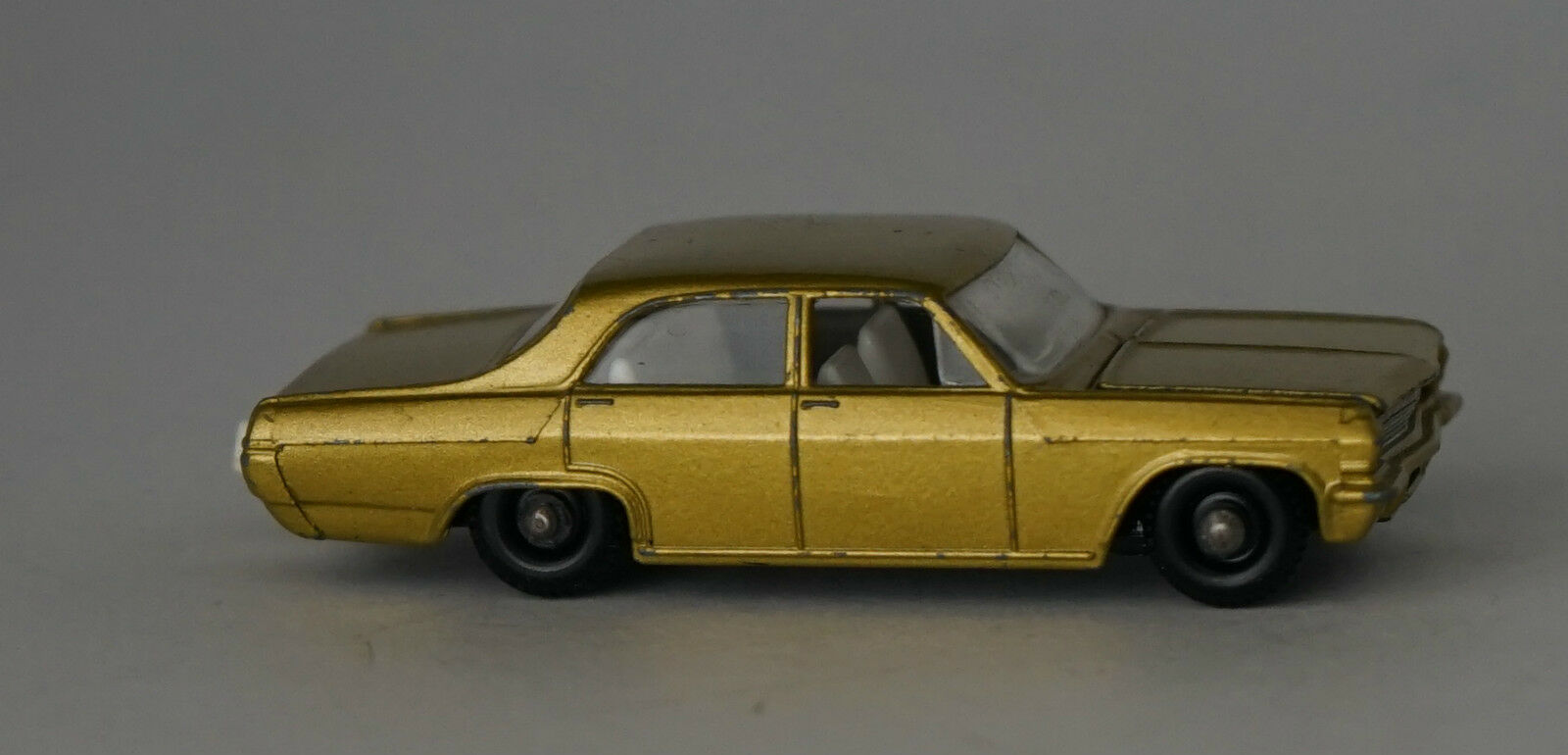 Matchbox Lesney 36c Opel Diplomat BPW, BPW, BPW, With Tow Hook. UNBOXED ddae5f