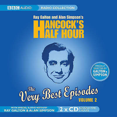 1 of 1 - HANCOCK'S HALF HOUR THE VERY BEST EPISODES VOL 2 - NEW UNSEALED BBC AUDIO BOOK
