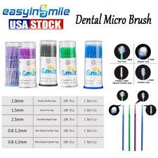 100 Pcs Applicator Brushes Dental Micro Brush Disposable Materials Durable Micro