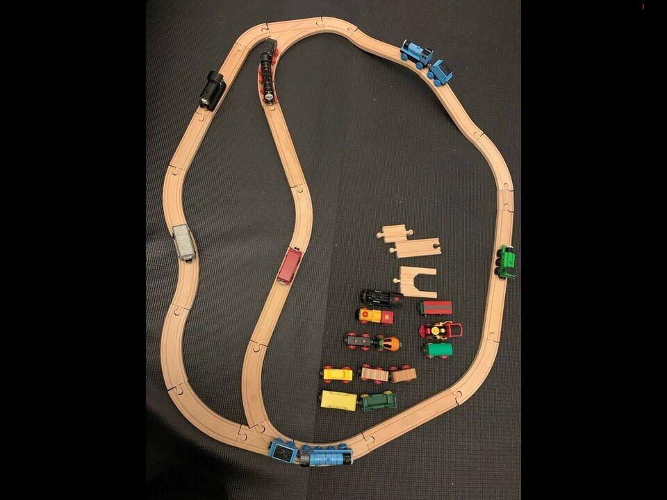 Brio togbane og Thomas toge og Brio toge