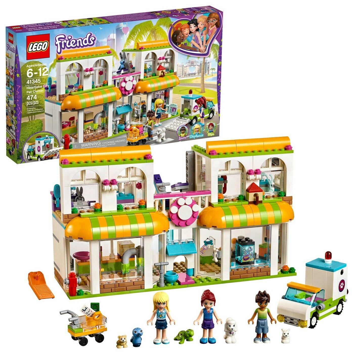 Pet City Friends 41345 Center Set Heartlake Lego Building oxBdeC