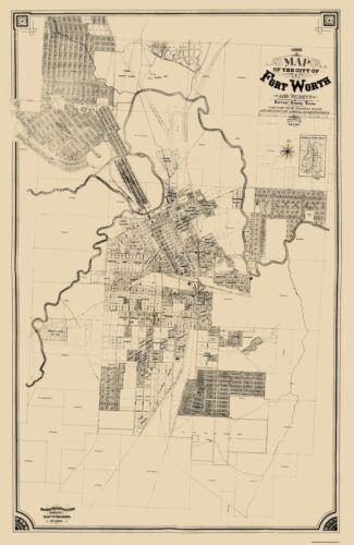 King 1888-23 x 35.31 Fort Worth Texas
