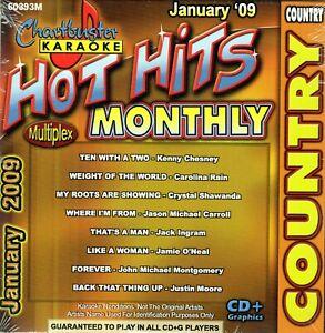 Details about Chartbuster Karaoke CD+G - CB60393M (January 2009)