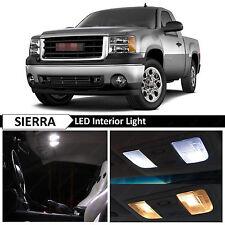 14x White Interior LED Lights Package Kit for 2007-2013 GMC Sierra