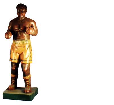 Design Boxer Figura Statua Scultura Figure Sculture Decorazione Decorazione 7628 Nuovo-