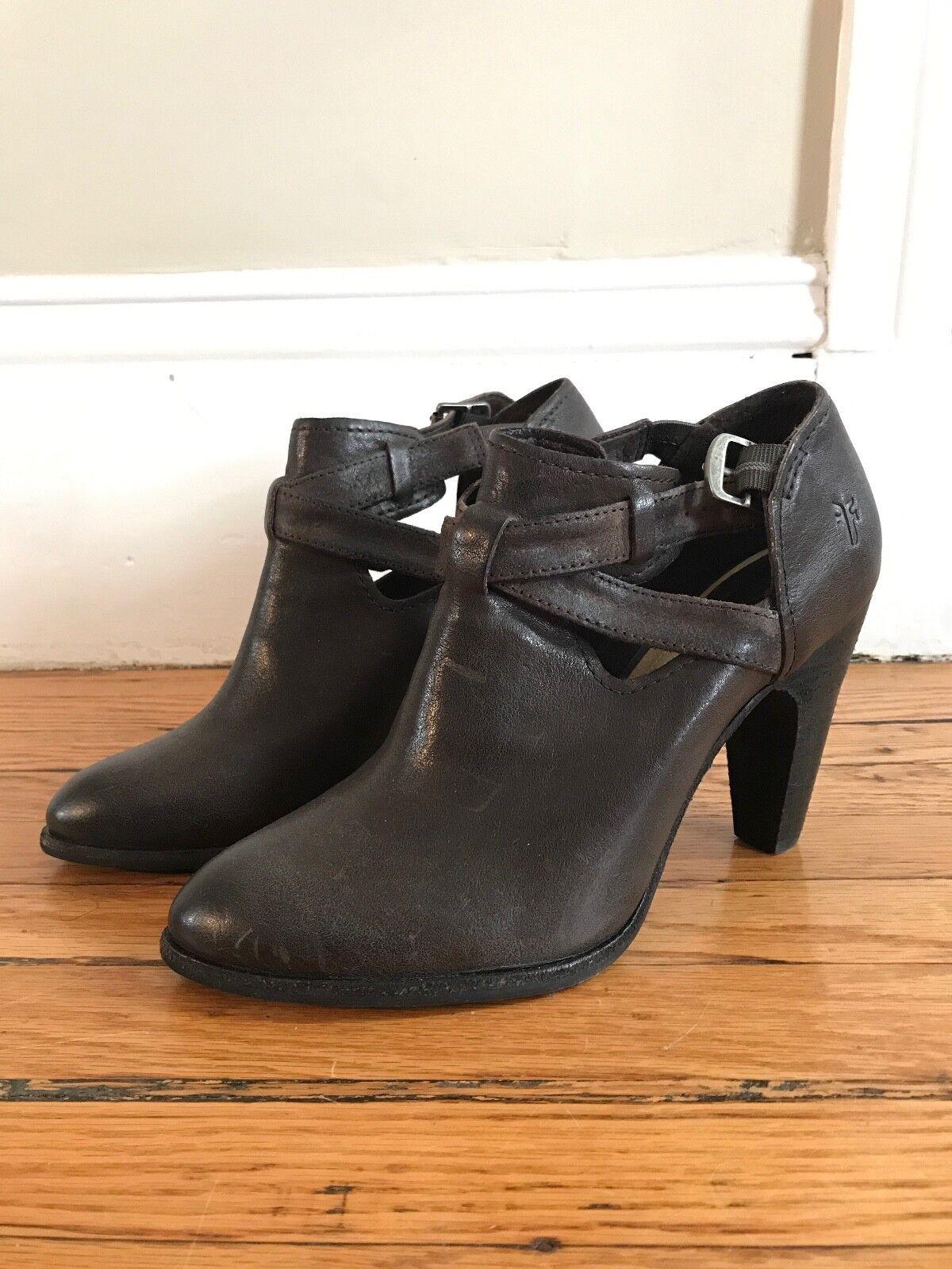 bellissima NWOT Frye Margaret Shootie Marrone Leather Dimensione 10 10 10  Garanzia di vestibilità al 100%